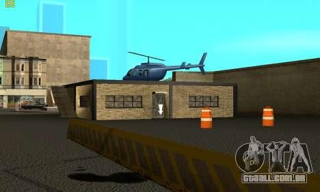 Substituição de texturas para a escola de Conduç para GTA San Andreas segunda tela