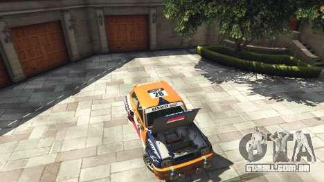 GTA 5 Renault 5 GT Turbo Rally voltar vista