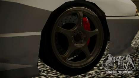 Elegy NR32 without Neon para GTA San Andreas traseira esquerda vista
