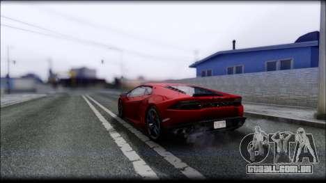 KISEKI V4 para GTA San Andreas sexta tela