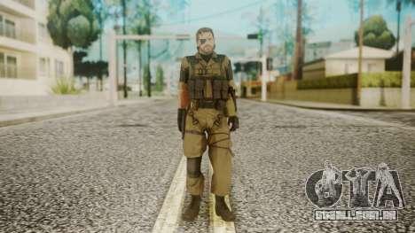 Venom Snake Other Arm para GTA San Andreas segunda tela