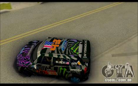 Mini Cooper Gymkhana 6 with Drift Handling para GTA San Andreas vista direita
