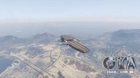 GTA 5 S.H.I.E.L.D. Helicarrier quarto screenshot