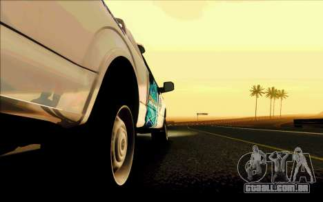 Ford F150 2015 Towtruck para GTA San Andreas interior