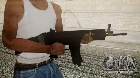 SCAR-L Battlefield 3 para GTA San Andreas terceira tela