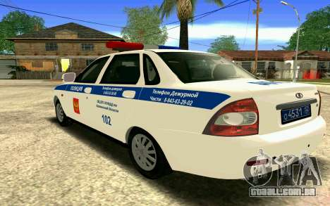 VAZ 2170 Priora DPS para as rodas de GTA San Andreas