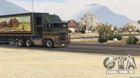 Smokey and the Bandit Trailer para GTA 5