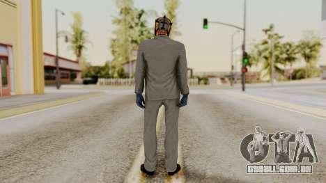 Payday 2 Sokol para GTA San Andreas terceira tela