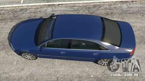 GTA 5 Audi A8 voltar vista