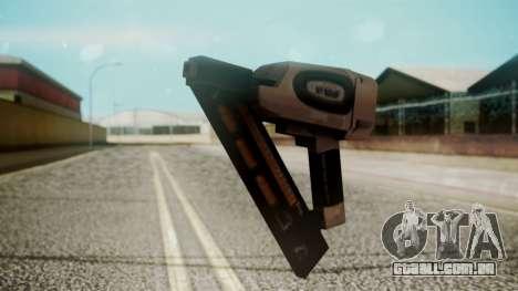 Nail Gun from Resident Evil Outbreak Files para GTA San Andreas