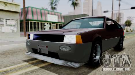 Blista Compact from Vice City Stories para GTA San Andreas