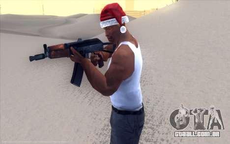 Realistic Weapons Pack para GTA San Andreas por diante tela
