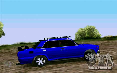 VAZ 2107 Tuning para GTA San Andreas esquerda vista
