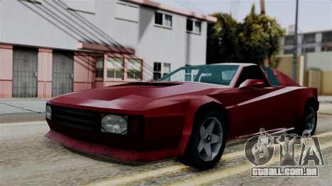 Cheetah from Vice City Stories para GTA San Andreas