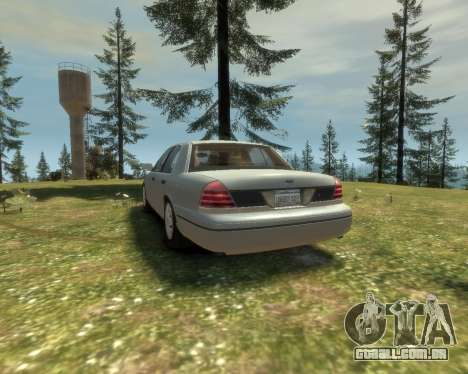 2003 Ford Crown Victoria para GTA 4 vista direita
