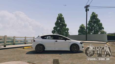 GTA 5 Seat Leon 2010 [BETA] v1.0 vista lateral esquerda