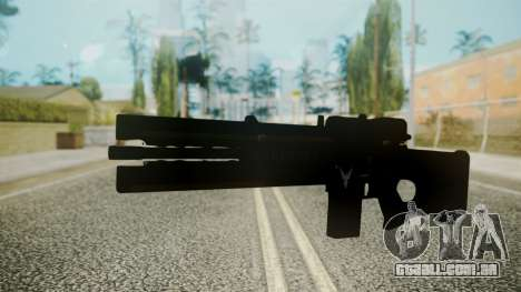 VXA-RG105 Railgun with Stripes para GTA San Andreas segunda tela