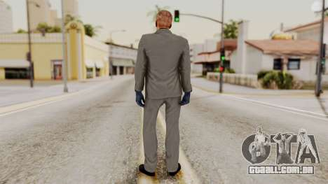 Payday 2 Sokol No Mask para GTA San Andreas terceira tela