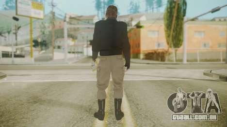 Venom Snake [Jacket] Stun Arm para GTA San Andreas terceira tela