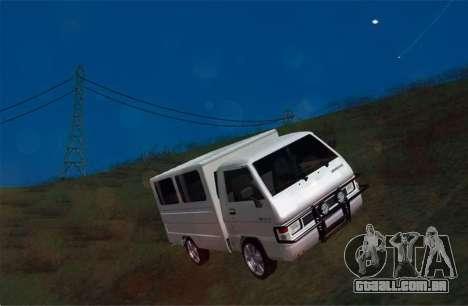 Mitsubishi L300 FB Van para GTA San Andreas