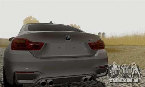 BMW M4 F82 para GTA San Andreas vista direita