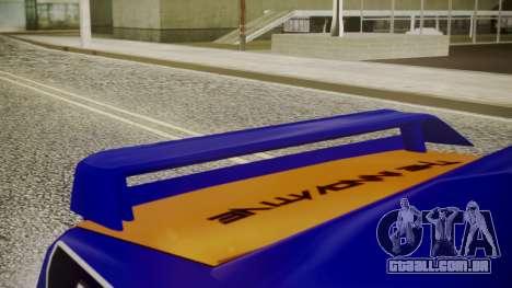 Elegy NR32 with Neon Exclusive PJ para GTA San Andreas vista direita