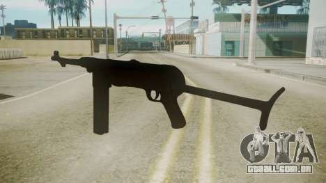 MP-40 Red Orchestra 2 Heroes of Stalingrad para GTA San Andreas segunda tela