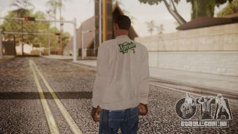 Sprunk Sweater Gray para GTA San Andreas terceira tela