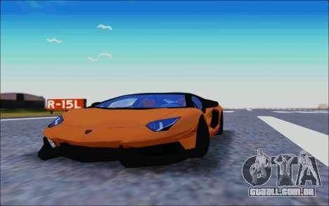 Lamborghini Aventador MV.1 [IVF] para GTA San Andreas