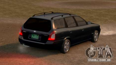 Daewoo Nubira I Spagon 1.8 DOHC 1998 para GTA 4 traseira esquerda vista