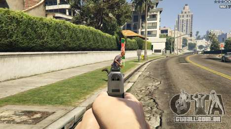 GTA 5 Forced First Person Aim 1.0.6 segundo screenshot
