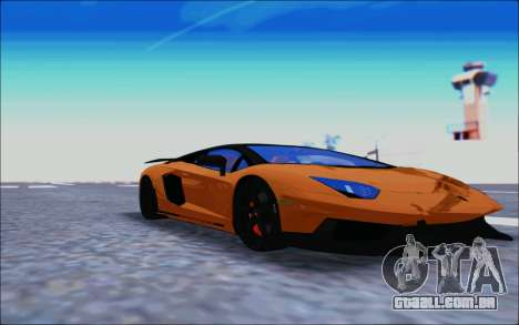 Lamborghini Aventador MV.1 [IVF] para GTA San Andreas esquerda vista