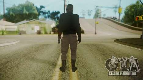 Venom Snake [Jacket] para GTA San Andreas terceira tela