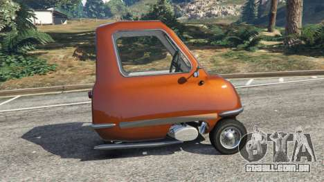 GTA 5 Peel P50 vista lateral esquerda