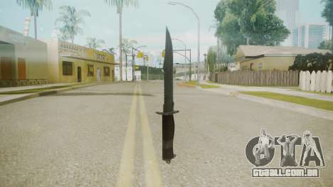 Atmosphere Knife v4.3 para GTA San Andreas segunda tela
