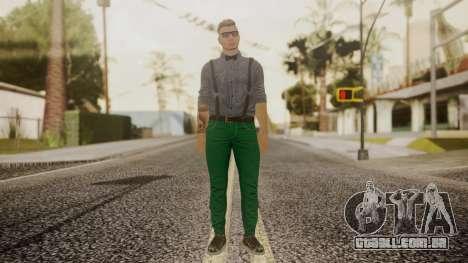 GTA Online Skin Hipster para GTA San Andreas segunda tela