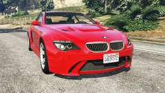 BMW M6 (E63) WideBody v0.1 [red]