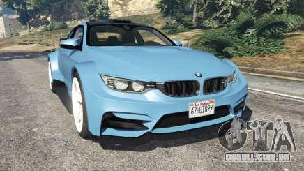 BMW M4 (F82) WideBody para GTA 5