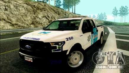 Ford F150 2015 Towtruck para GTA San Andreas