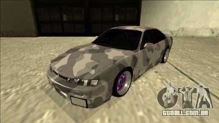 Nissan Silvia S14 Army Drift para GTA San Andreas