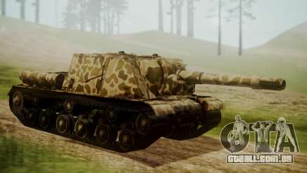 ISU-152 Panther Desert from World of Tanks para GTA San Andreas