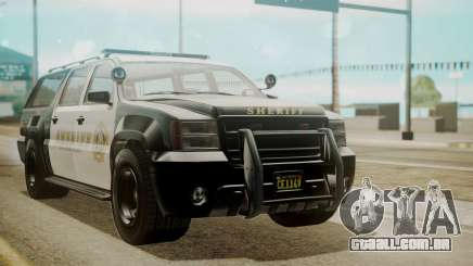 GTA 5 Declasse Granger Sheriff SUV para GTA San Andreas