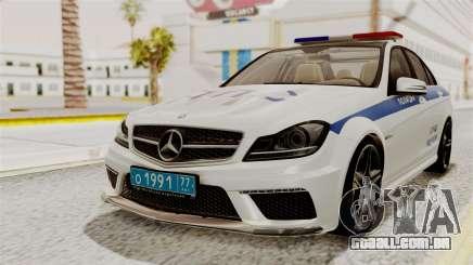 Mercedes-Benz C63 AMG STSI o Ministério de Assuntos internos para GTA San Andreas