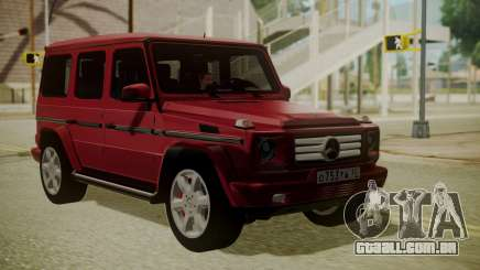 Mercedes-Benz G350 Bluetec para GTA San Andreas