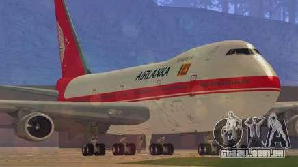 Boeing 747-200 Air Lanka para GTA San Andreas