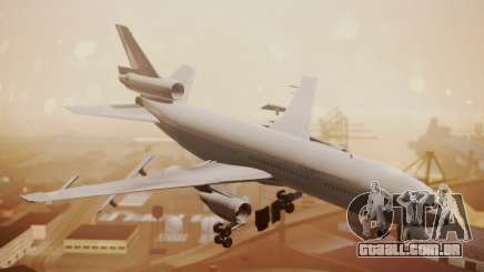 DC-10-30 All-White Livery (Paintkit) para GTA San Andreas