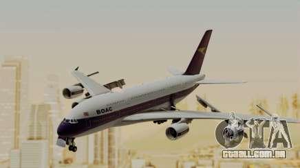 Airbus A380-800 British Overseas Airways Corp. para GTA San Andreas