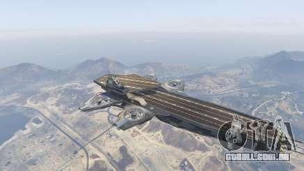 S.H.I.E.L.D. Helicarrier para GTA 5