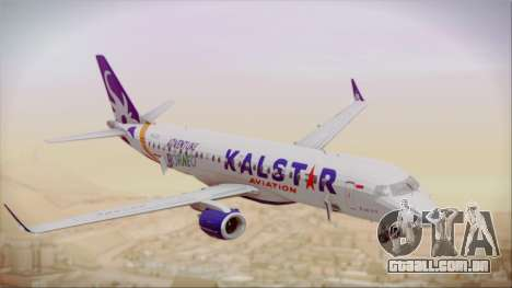 E-195 KalStar Aviation para GTA San Andreas vista direita