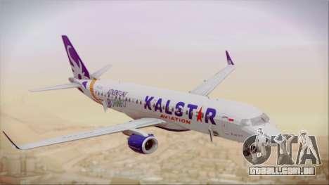 E-195 KalStar Aviation para GTA San Andreas vista direita